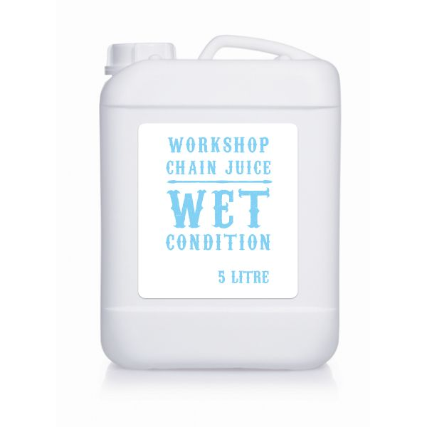 Olej do łańcucha Juice Lubes Workshop Chain Juice Wet - 5 L