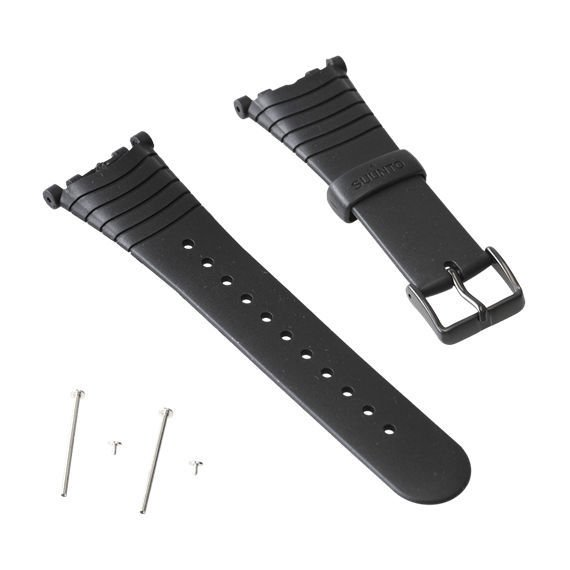 Pasek Suunto Vector Black Elastomer Strap Kit