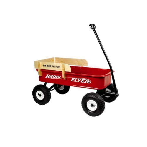 Pojazd dziecięcy RADIO FLYER All Terrain Stell & Wood Wagon (Model 180W )