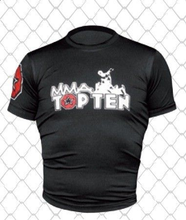 Rashguard TOP TEN MMA