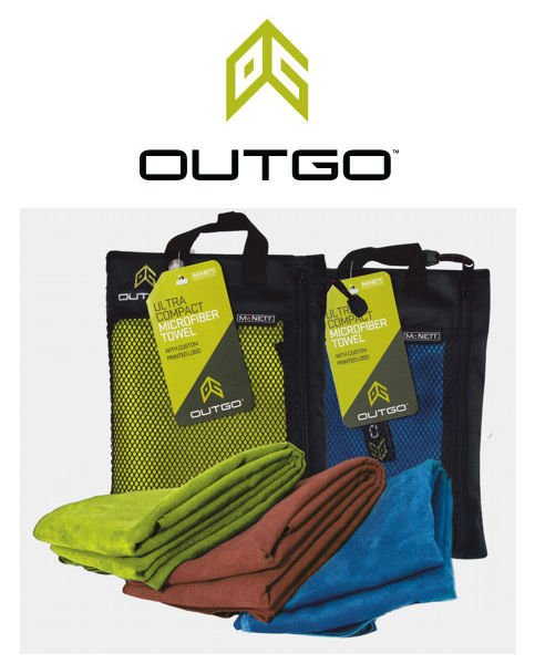 Ręcznik McNett Outgo Towel Outgo Green Large 68155