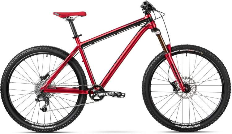 Rower Enduro Dartmoor Primal Pro Red Devil 2015