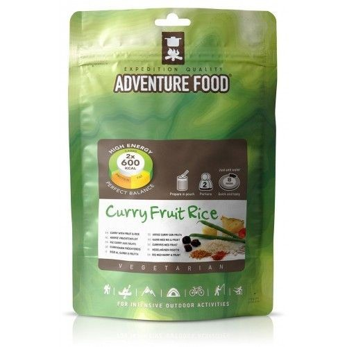 Ryż z owocami w sosie curry Adventure Food 2 Porcje