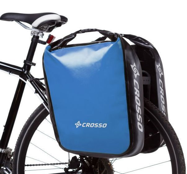 Sakwy rowerowe Crosso Dry Big 60l Adventure Click System