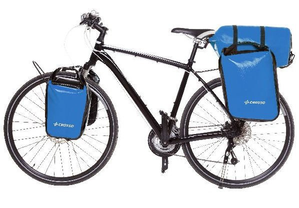 Sakwy rowerowe Crosso Dry Small 30l Adventure