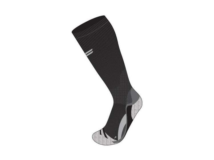 Skarpety do biegania FUSE RUNNING COMPRESSION PERFORMANCE męskie / 47-49 czarno-szare