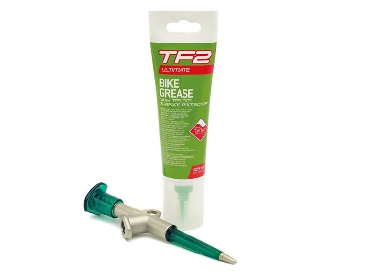 Smar WELDTITE TF2 GREASE GUN & BIKE GREASE TEFLON + pistolet 150ml