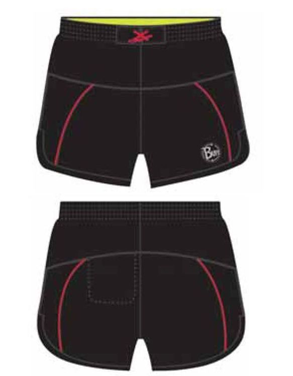 Spodenki RUNNING SHORTS RED