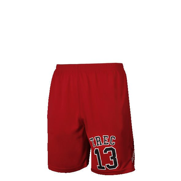 Spodnie Trec Nutrition MEN'S TREC WEAR - COOLTREC 005 - SHORT PANTS/RED