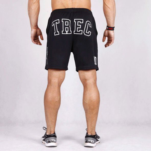 Spodnie Trec Nutrition MEN'S TREC WEAR - COOLTREC 006 - SHORT PANTS/BLACK