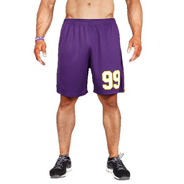Spodnie Trec Nutrition MEN'S TREC WEAR - COOLTREC 008 - SHORT PANTS/PURPLE