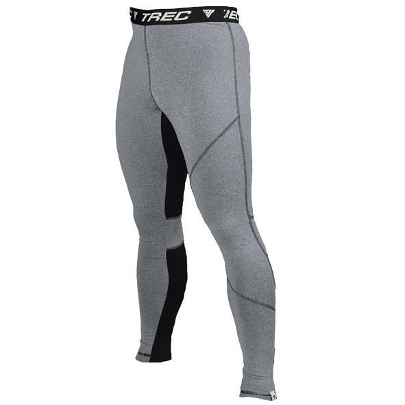 Spodnie Trec Nutrition MEN'S TREC WEAR - WHITE LOGO TREC - PRO PANTS 002/GRAY