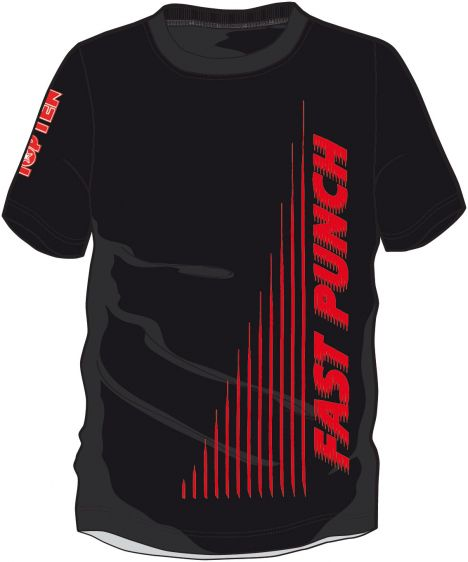 "T-shirt TOP TEN ""Fast Punch\"""