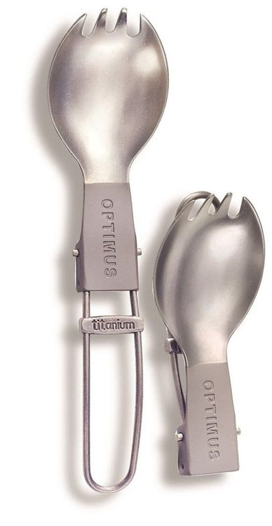 Widelec Optimus Titanium Folding Spork