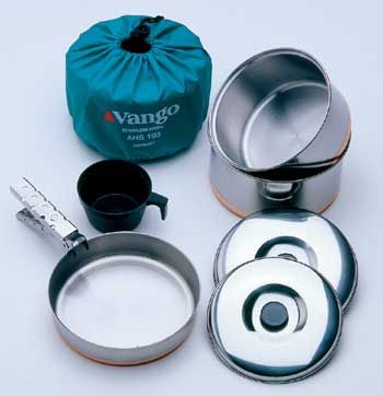 Zestaw naczyń Vango 1 Person Cook Kit