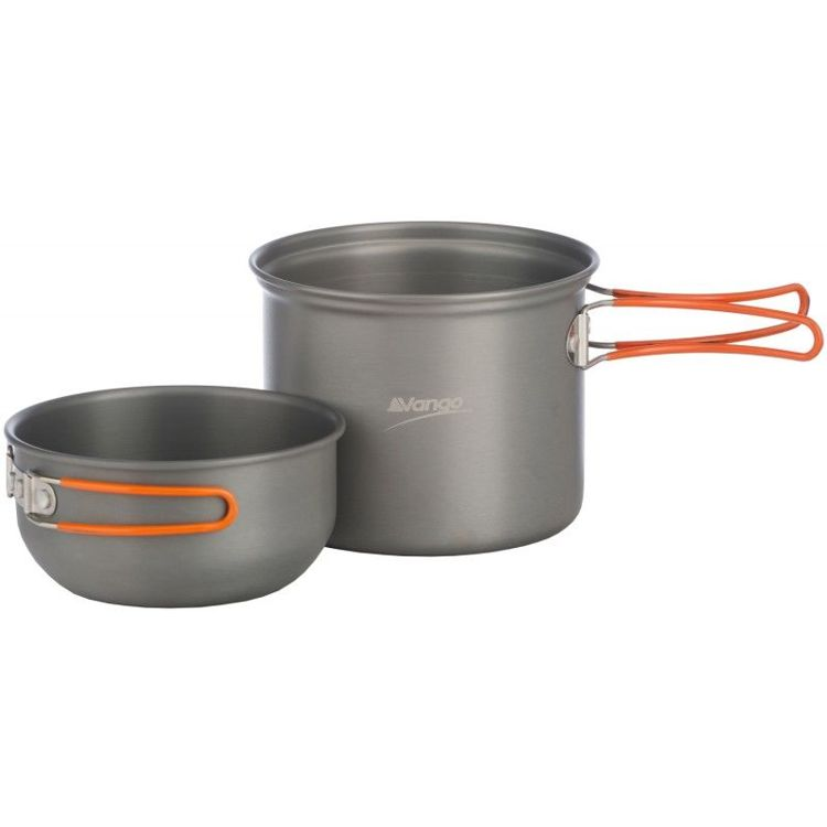 Zestaw naczyń Vango alu Hard Anodised Cook Kit 1 Person