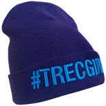 Czapka Trec Nutrition WINTER CAP 011 - #TREC GIRL - PURPLE