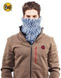 Komin Neckwarmer Buff Knitted Polar Fleece Aura Grey Chic
