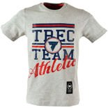 Koszulka Trec Nutrition MEN'S TREC WEAR - TREC TEAM ATHLETIC - T-SHIRT 013/GRAY MELANGE