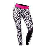 Spodnie Trec Nutrition WOMEN'S TREC WEAR - TREC GIRL 001 - LEGGINS/BLACK-WHITE-PINK